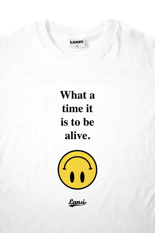 "Image of LANSI ""Alive"" T-shirt (White)"