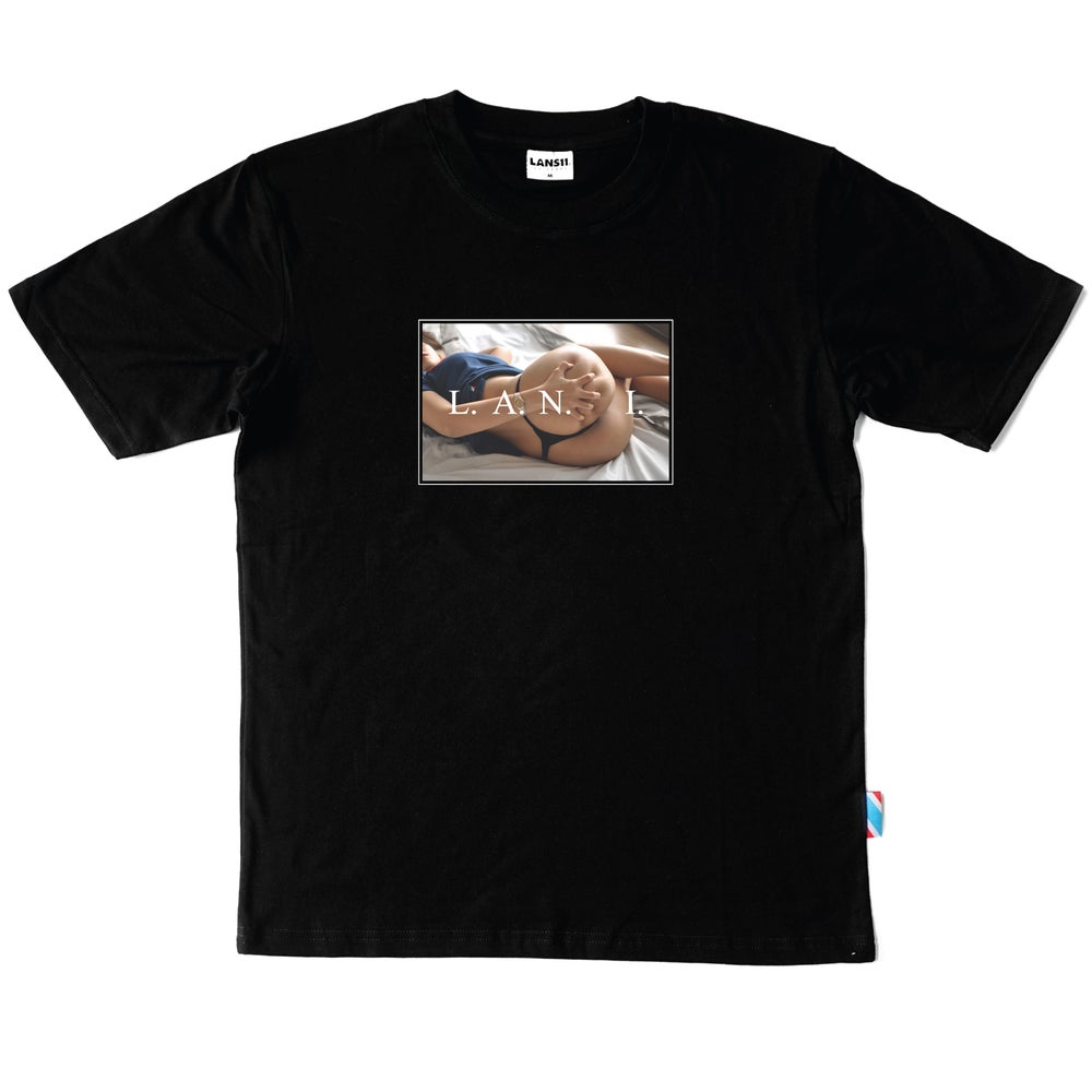 "Image of LANSI ""Spellbound II"" T-shirt (Black)"
