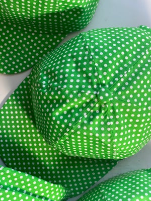 Image of Polka dots in green