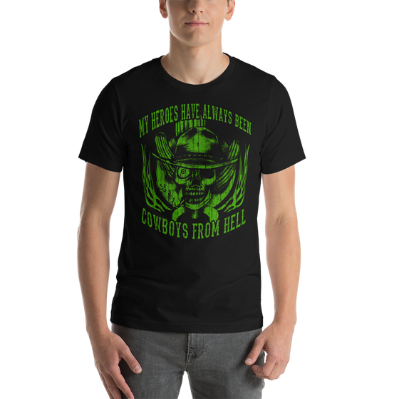 Image of MY HEROES UNISEX T-SHIRT