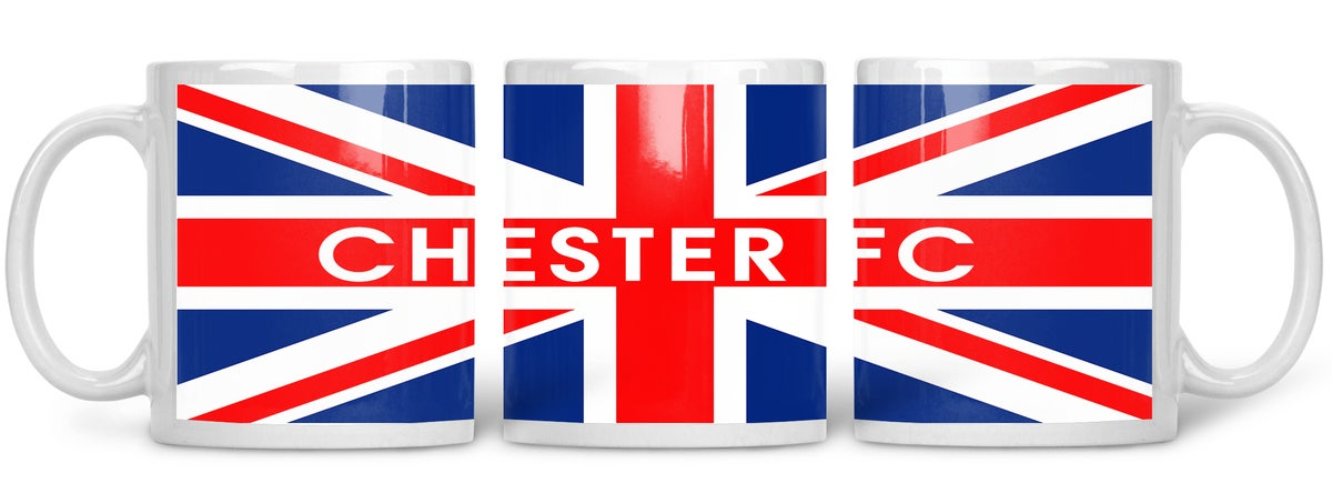 Chester, Football, Casuals, Ultras, Fully Wrapped Mug. Unofficial.