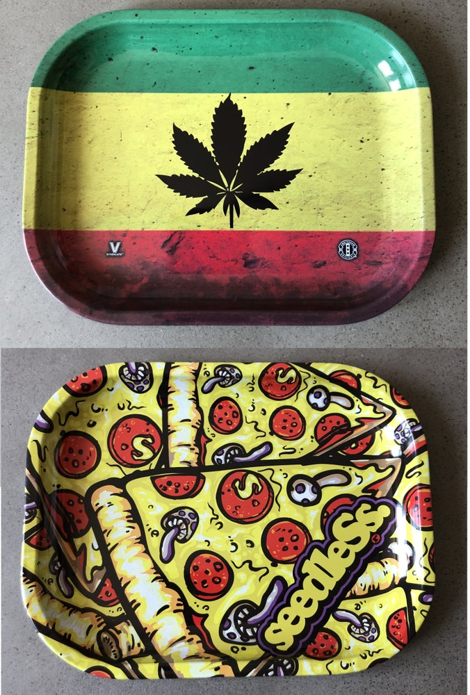 Image of Metal Rolling Trays