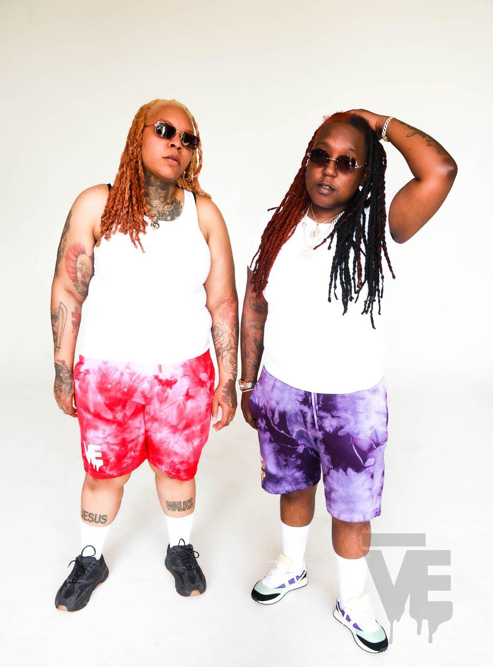 Men's Tie Dye VE Shorts