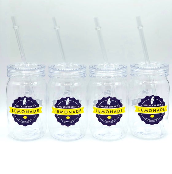Image of Huckleberry Lemonade Tumblers - Set of 4