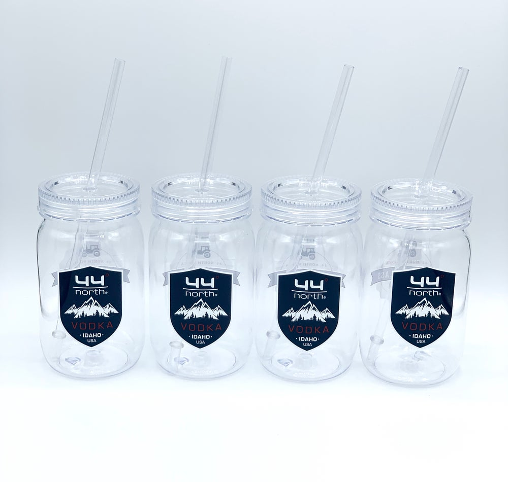 Image of 44° North Vodka Shield Tumblers-Set of 4