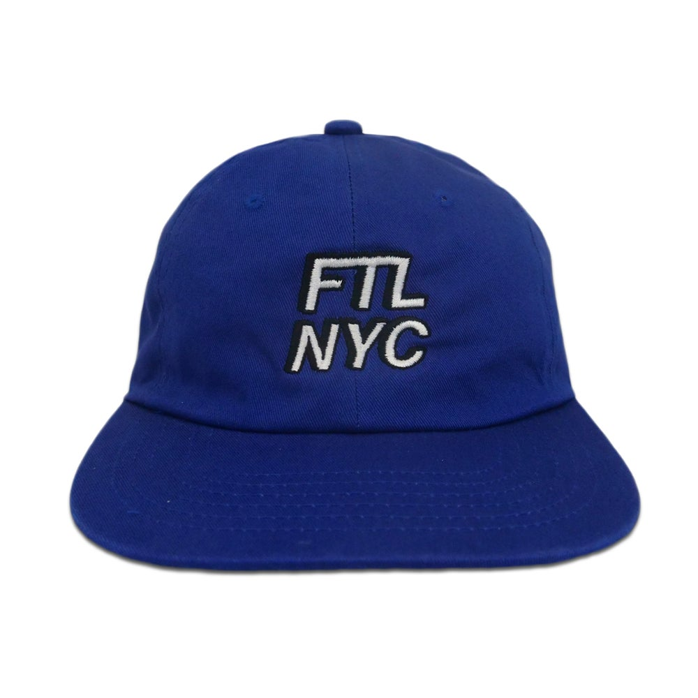 Image of FTL NYC 3D Hat (Blue)