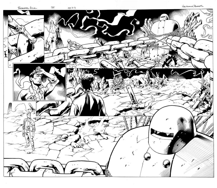 Image of Immortal Hulk (2020) #35 PGS 2-3