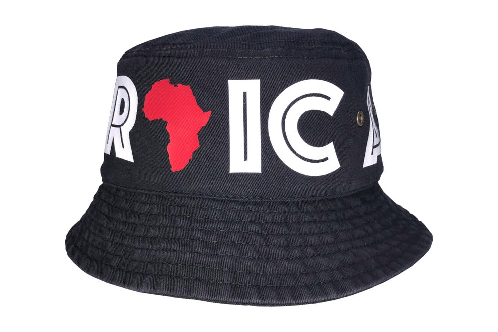 "Image of World Tour ""Africa"" Bucket Hat Black"