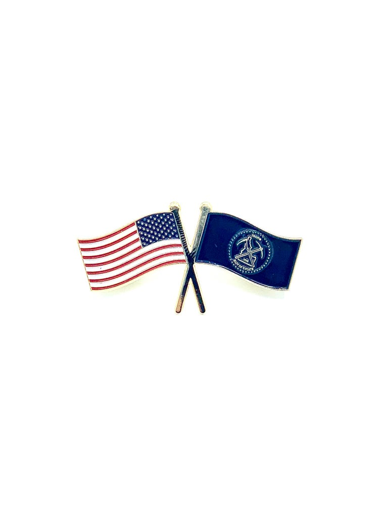 Image of Idaho Mercantile Distillers Flag Pin