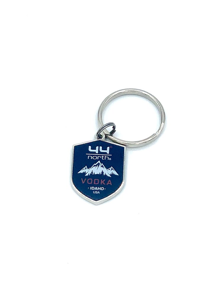 Image of 44° North Vodka Shield Keychain