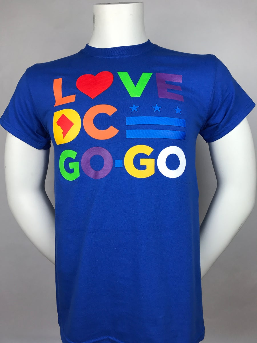 "Image of Love DC GoGo - ""Blue Magic"" T-shirt"