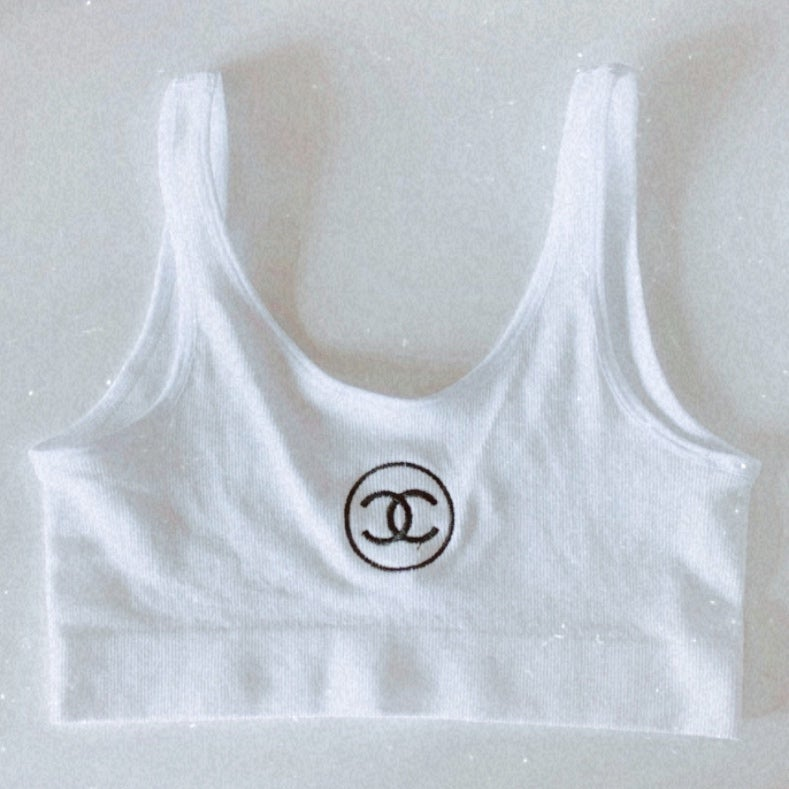 Image of CC Sports Crop Wh
