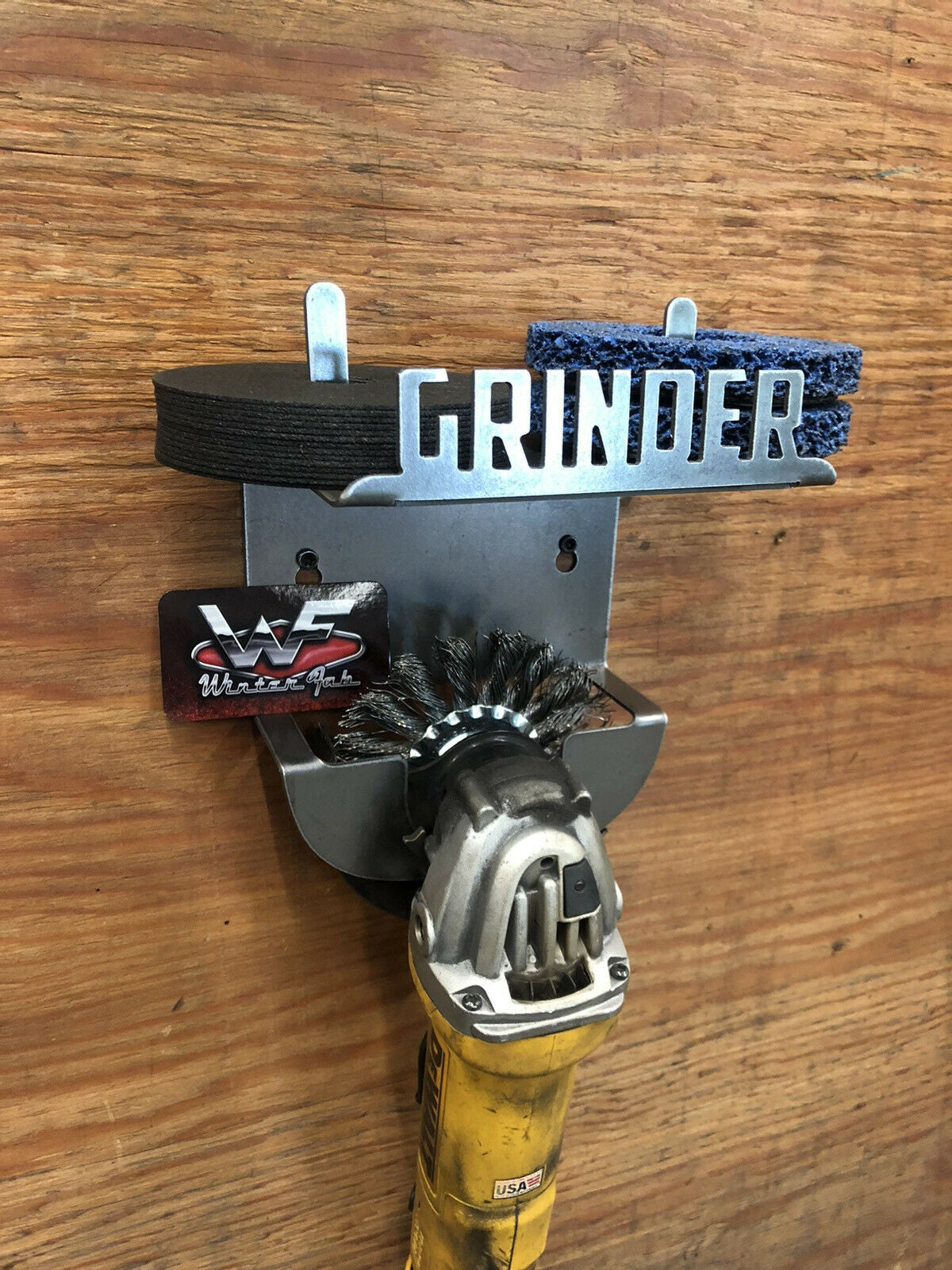 Image of Single Grinder and Wheel Combo Rack