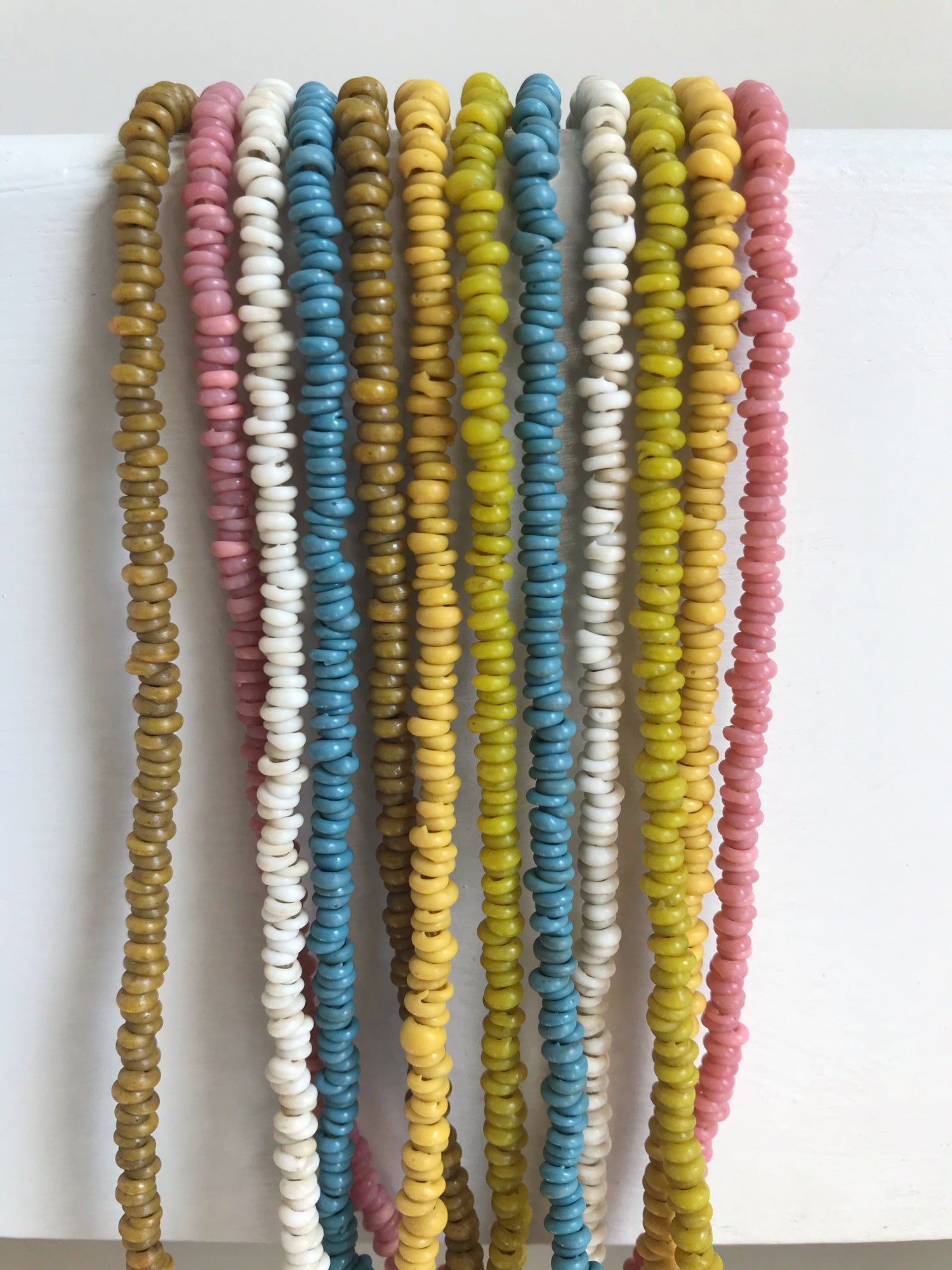 Image of Vintage Glass Seed Bead Necklace - 6 Colors Available