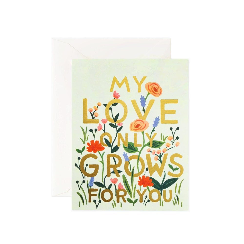 Image of LOVE GROWS Card