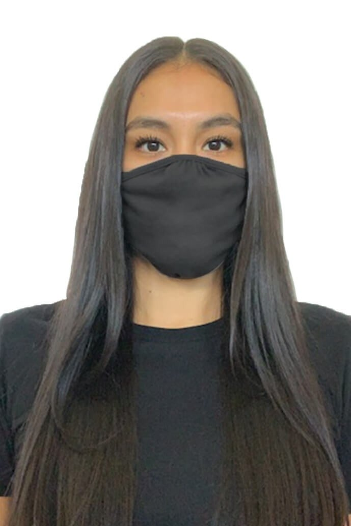 Image of Cotton poly mask