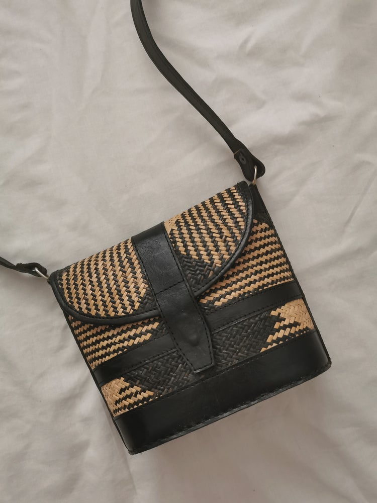 Image of mini basket bag