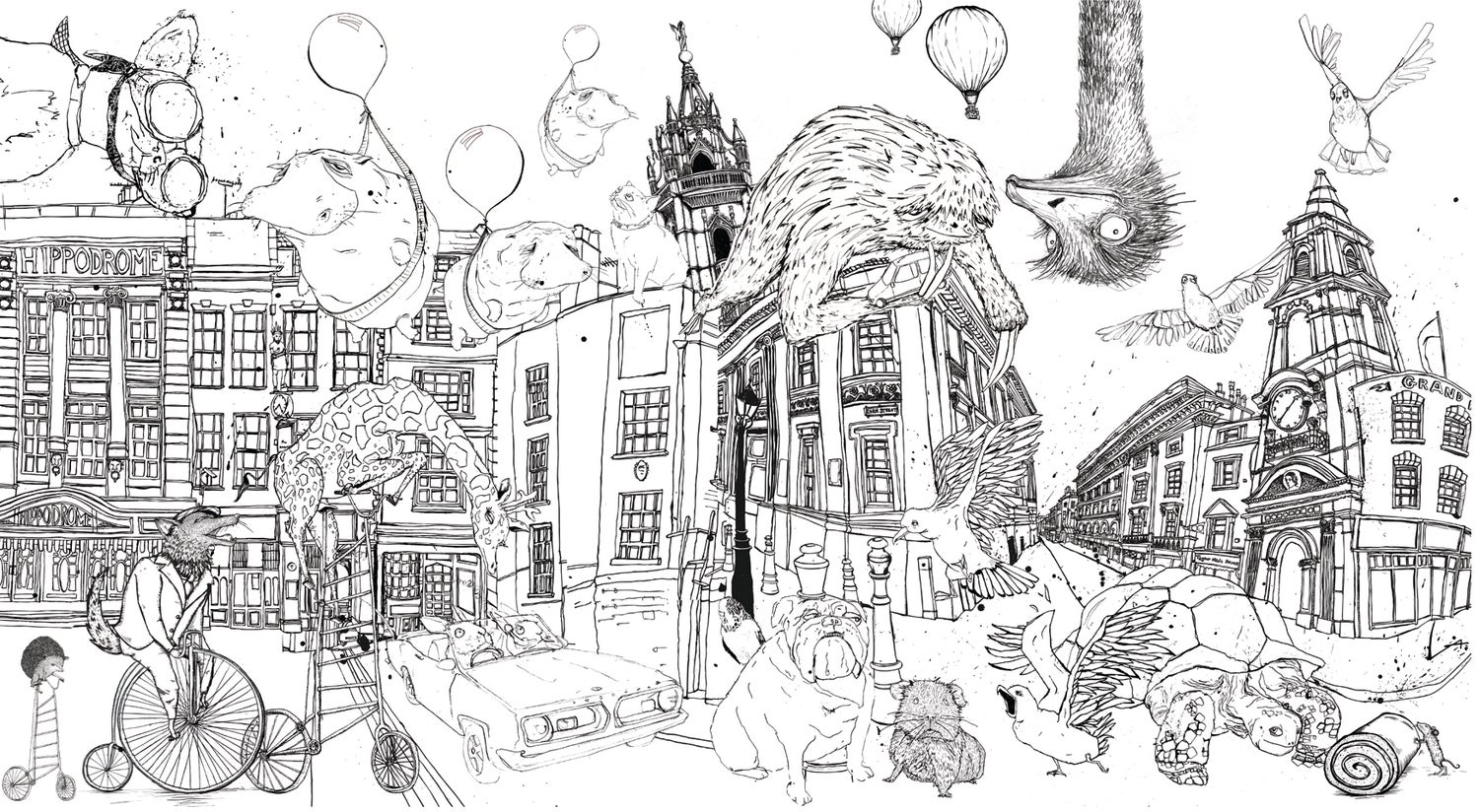 Image of Antics Colouring in sheets