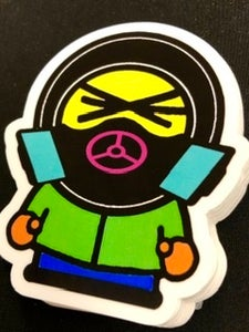 """Image of """"PANDEMIC KENNY"""" STICKER"""
