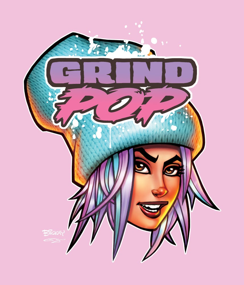 Image of Grind POP Kim T-Shirt Light Pink