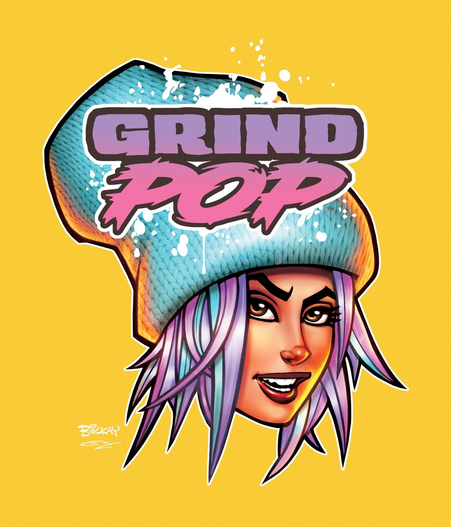 Image of Grind POP Kim T-Shirt Daisy