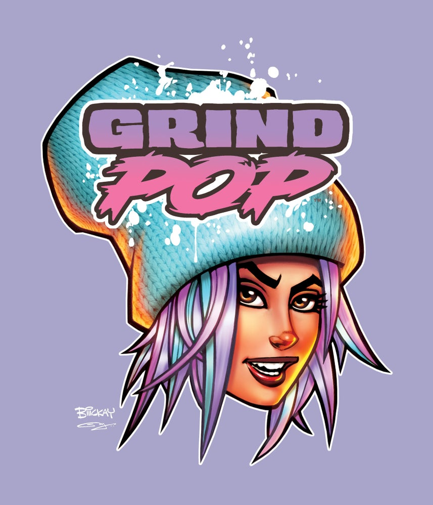 Image of Grind POP Kim T-Shirt Violet