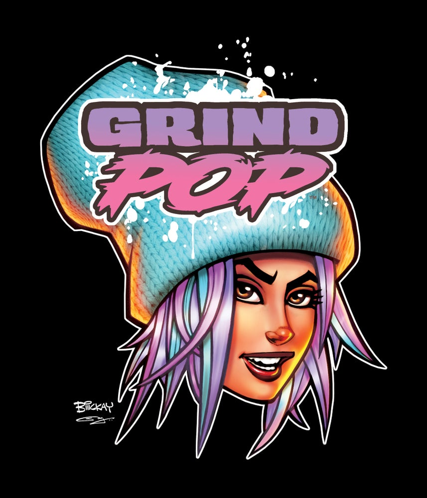 Image of Grind POP Kim T-Shirt Black