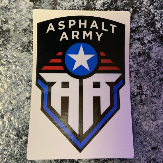 Image of AA Military Badge Decal