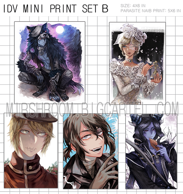Image of IDV Mini Print Set B
