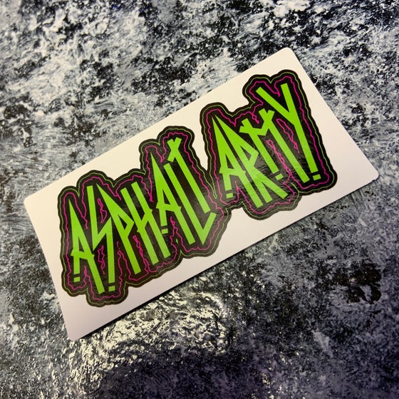 Image of AA Punk-Metal Decal