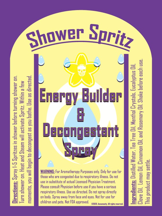 Image of Shower Spritz - Energy
