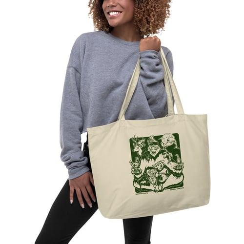 Image of Nature Corner large organic tote bag