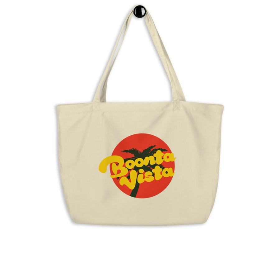 Image of Boonta Vista Logo Large Tote