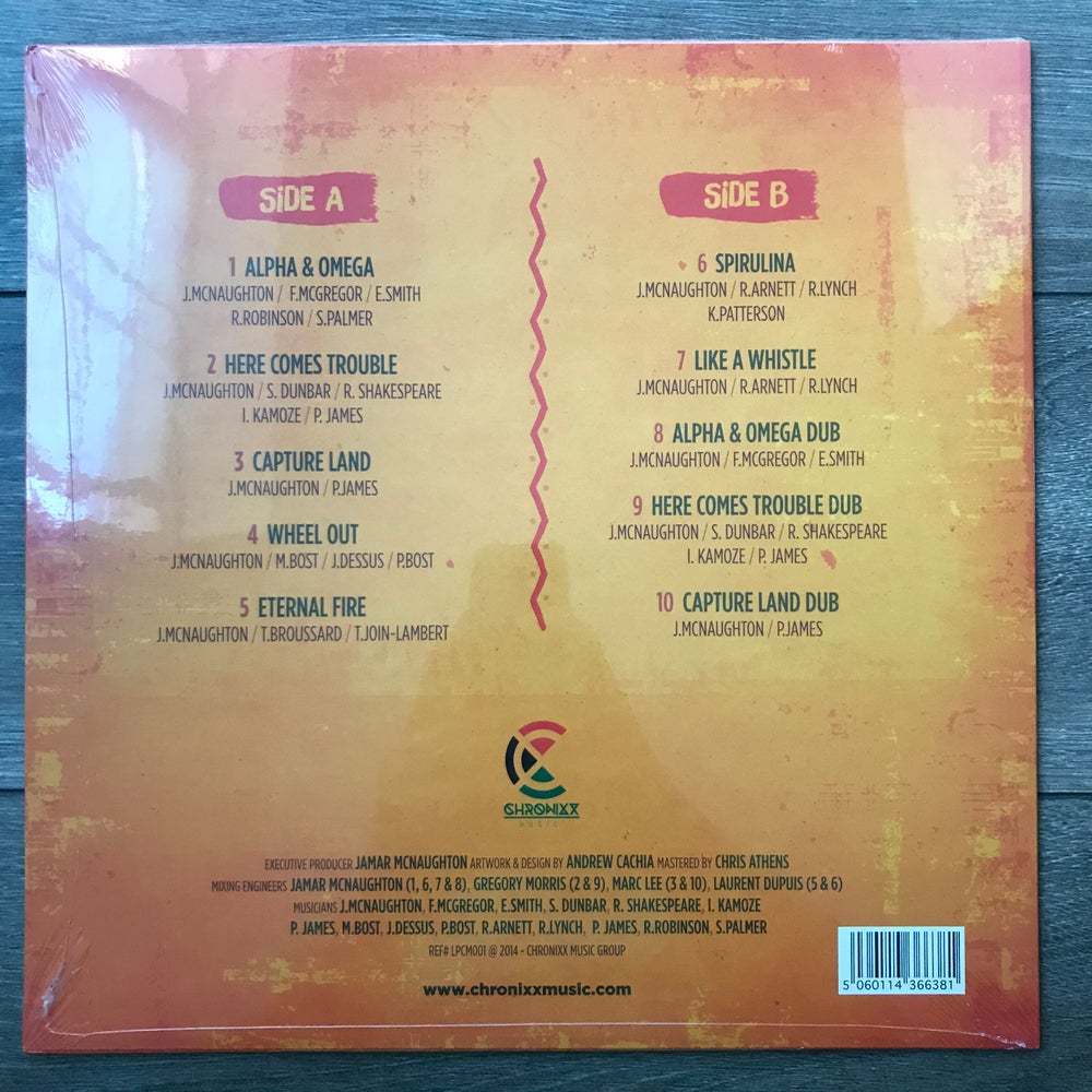 Image of Chronixx - Dread And Terrible Vinyl LP