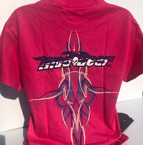 Image of Dark Pink - Pinstripe WOMEN  3XL & 4XL Avail.