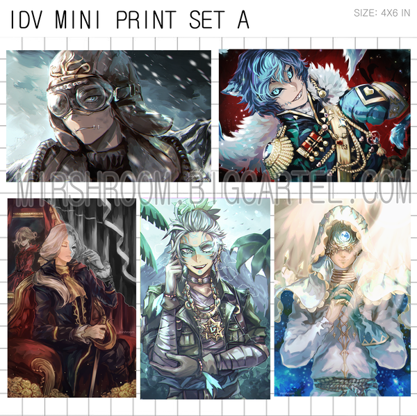Image of IDV Mini Print Set A