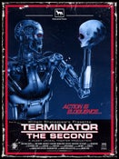 Image of Terminator the Second Poster