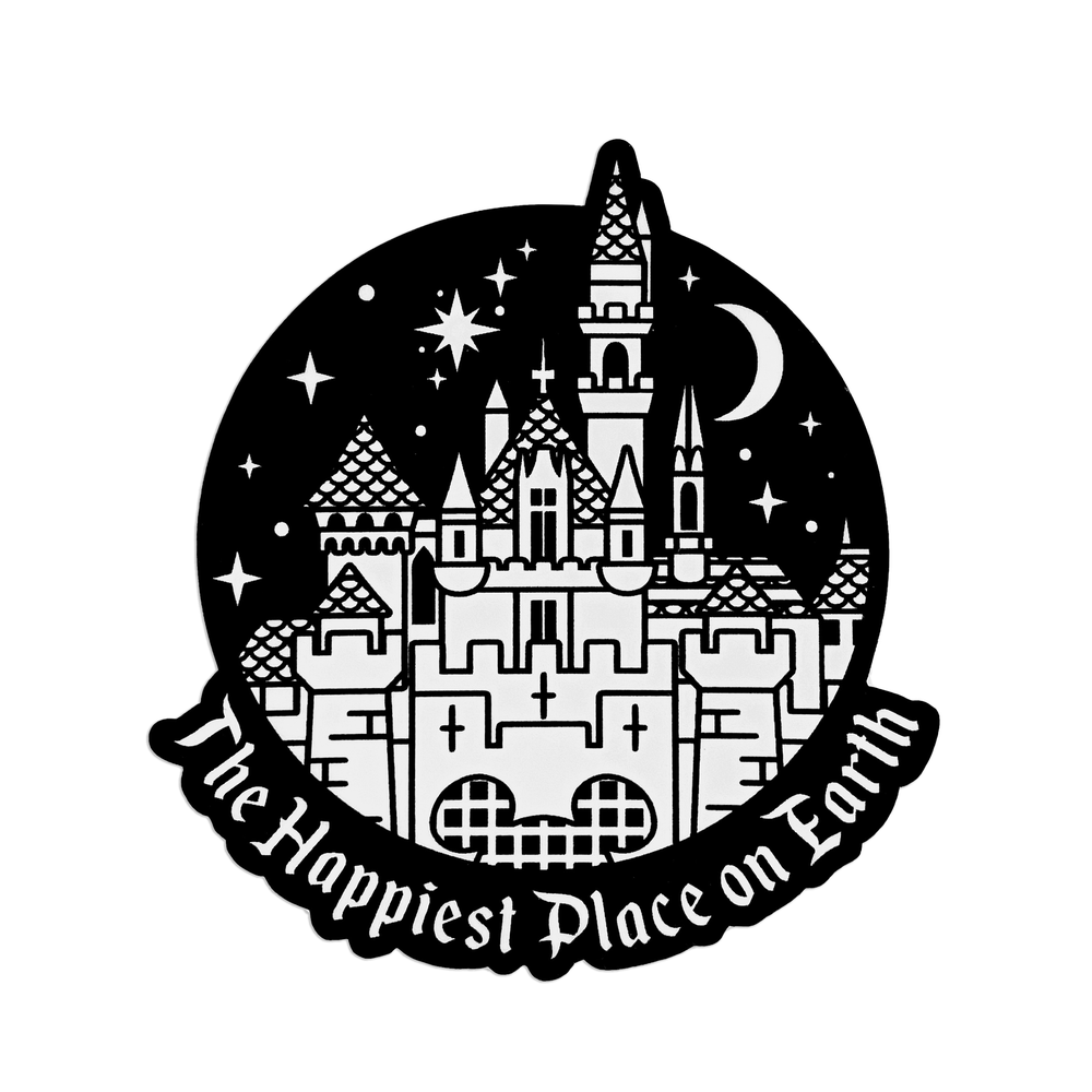 Image of Happiest Place Sticker