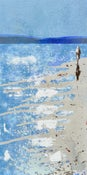 Image of Blue Horizon, Padstow Bay, Cornwall - Canvas Wrap Print