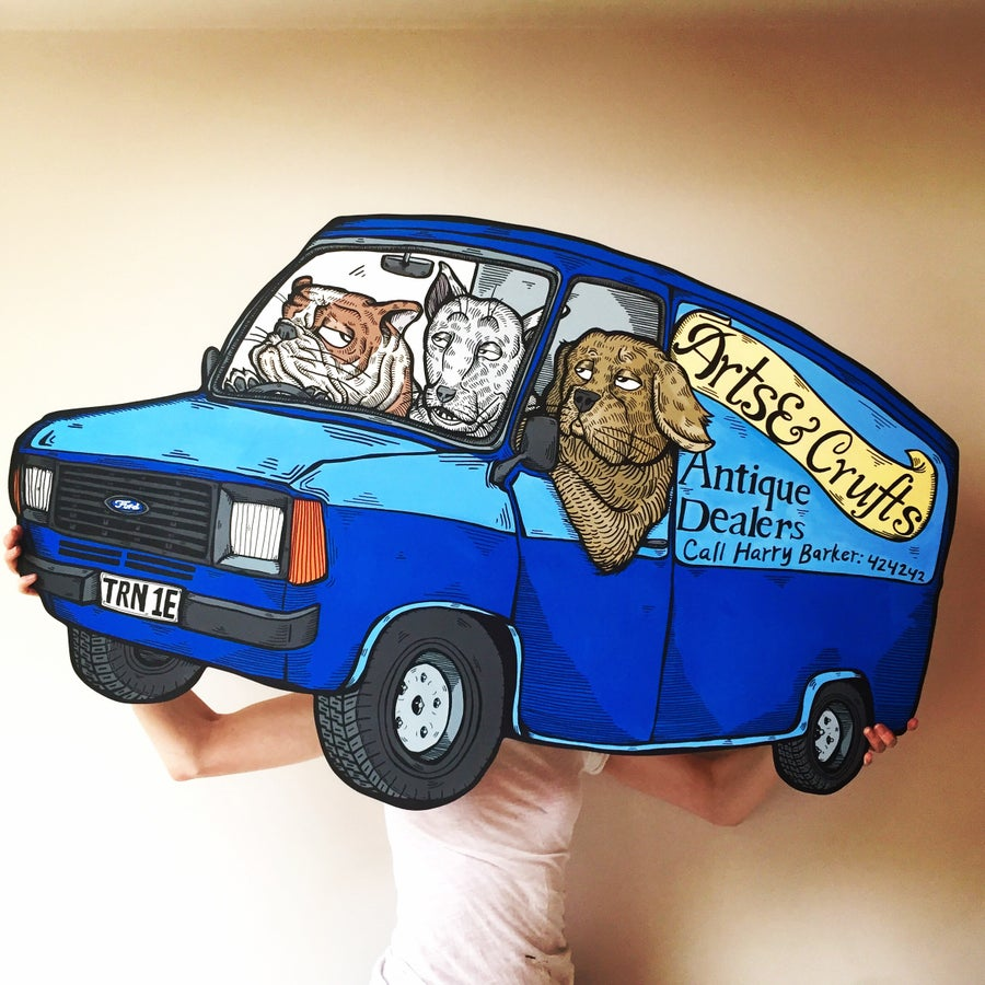 Image of 'Arts & Crufts II' from original 'Cars' series