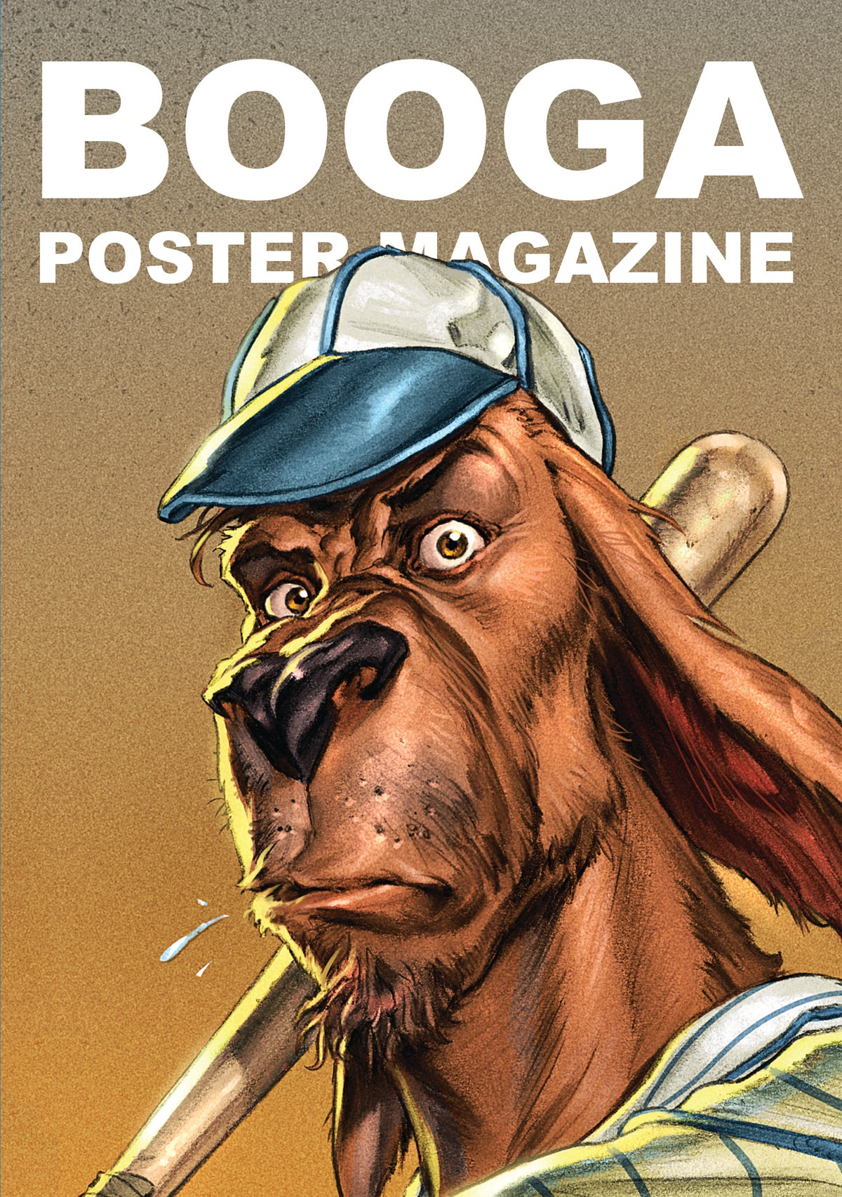Image of BOOGA POSTER MAGAZINE SPECIAL (with MORE TEA VICAR badge!)