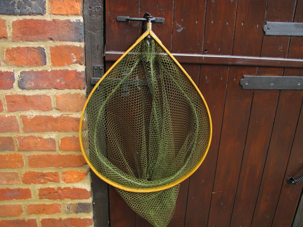 Image of Steam bent ash framed landing net