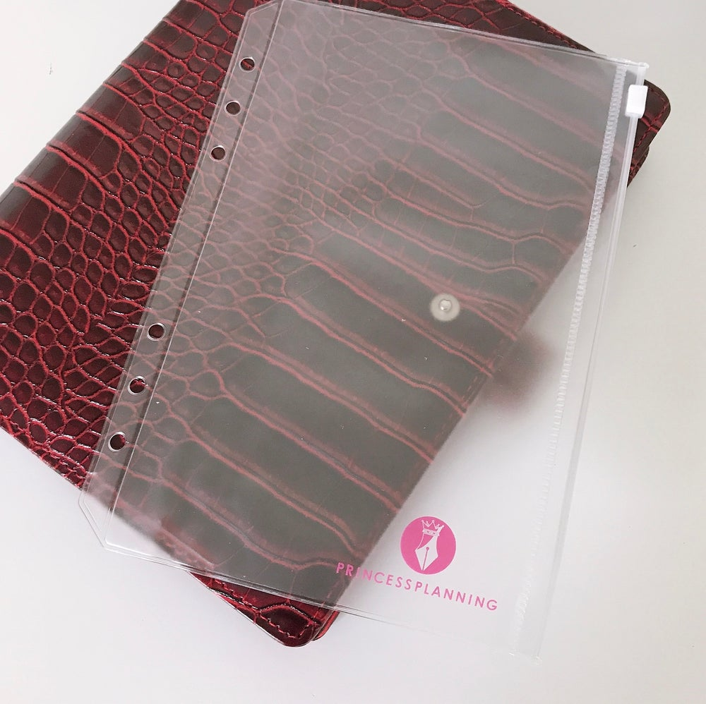 Image of PRINCESS PLANNING  CLEAR ORGANISER WALLET POUCH