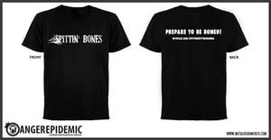 Image of Spittin' Bones logo T-Shirts