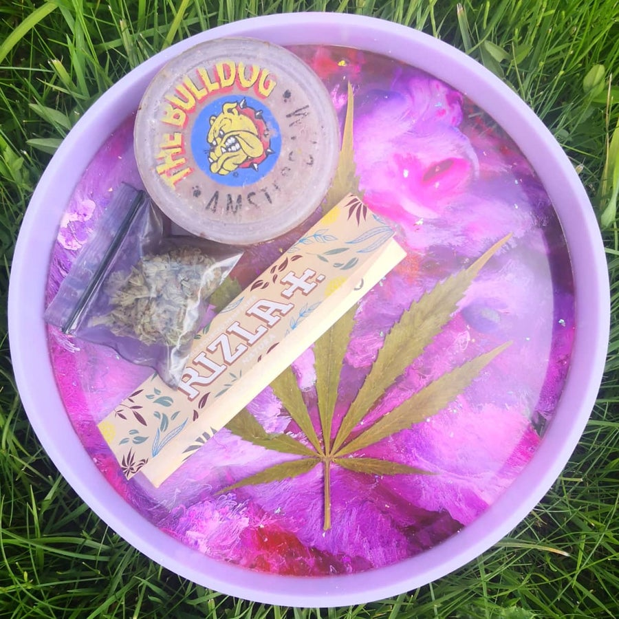 "Image of Purple Haze / 7"" Multifunctional Tray"