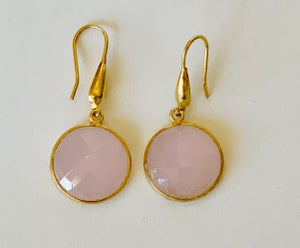 Image of Round drop earring