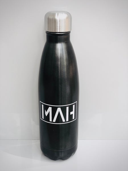 Image of MAH Gunmetal grey 500ml water bottle