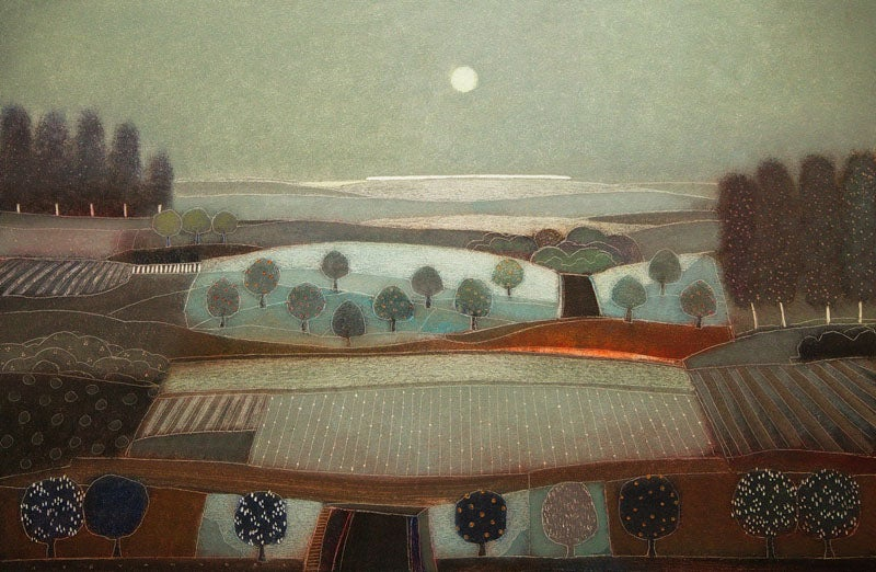 Image of Rob Van Hoek - 'When The Twilight Falls' - Original Oil On Canvas