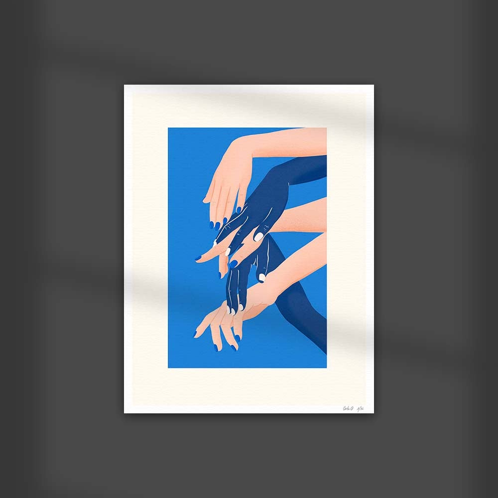 Image of Touching Hands