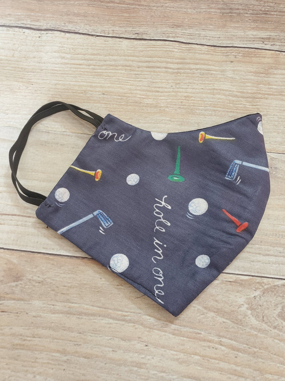Image of HOLE IN ONE FASHION MASK